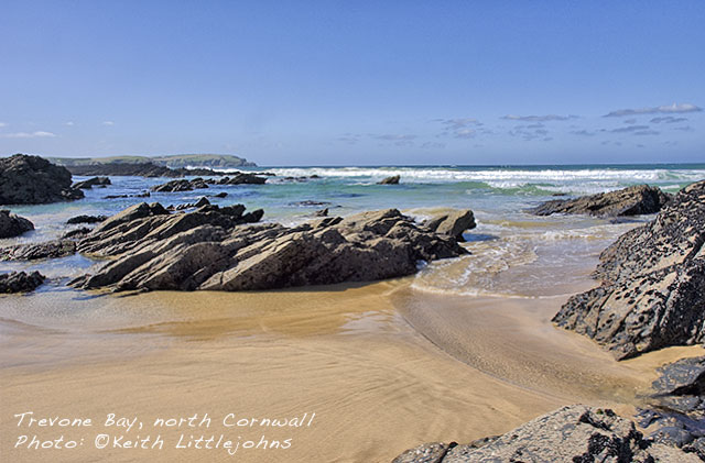 Kernow Blog - Trevone Bay, North Cornwall © Keith Littlejohns