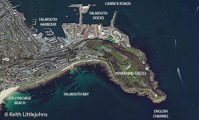 Falmouth-Tall-Ships-2014-Pendennis-Castle-headland