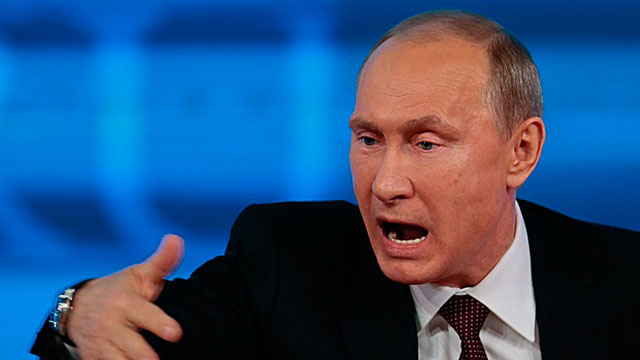 Megalomaniac Putin Reveals His True Mental State